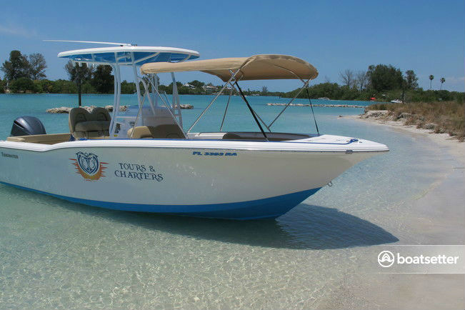 Rent a TideWater Boats center console in Osprey, FL near me