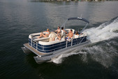 25 ft. Sweetwater Tritoon Pontoon Boat Rental Rest of Northeast Image 1