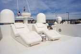 90 ft. Majestic Pershing Motor Yacht Boat Rental Miami Image 4