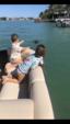 24 ft. Sun Tracker by Tracker Marine Party Barge 22 DLX w/115ELPT 4-S Pontoon Boat Rental Miami Image 1