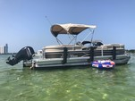 24 ft. Sun Tracker by Tracker Marine Party Barge 22 DLX w/115ELPT 4-S Pontoon Boat Rental Miami Image 4