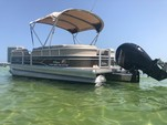 24 ft. Sun Tracker by Tracker Marine Party Barge 22 DLX w/115ELPT 4-S Pontoon Boat Rental Miami Image 5