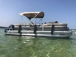 24 ft. Sun Tracker by Tracker Marine Party Barge 22 DLX w/115ELPT 4-S Pontoon Boat Rental Miami Image 6