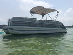 24 ft. Sun Tracker by Tracker Marine Party Barge 22 DLX w/115ELPT 4-S Pontoon Boat Rental Miami Image 8