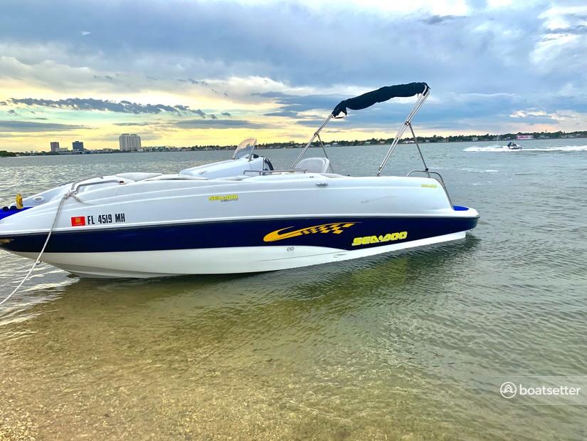 Rent a Sea-Doo jet boat in Miami, FL near me