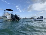 24 ft. Century Boats 2400 CC w/2-F150 Yamaha Walkaround Boat Rental Miami Image 7