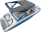 24 ft. Yamaha 242X E-Series  Bow Rider Boat Rental West Palm Beach  Image 5
