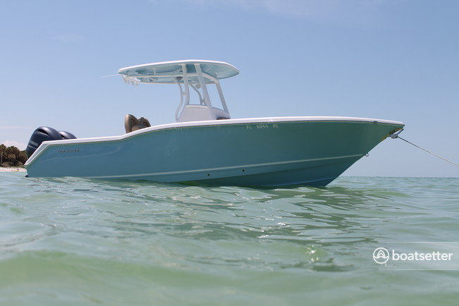 Rent a TideWater Boats center console in Port Richey, FL near me