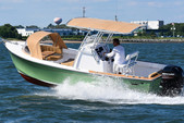 21 ft. Vanquish Bristol Harbor Center Console Center Console Boat Rental Boston Image 4