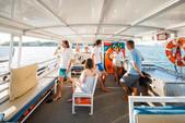 45 ft. trident 45ft Pontoon Boat Rental Miami Image 1