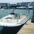 24 ft. Monterey Boats 240 Explorer Deck Boat Boat Rental Los Angeles Image 4