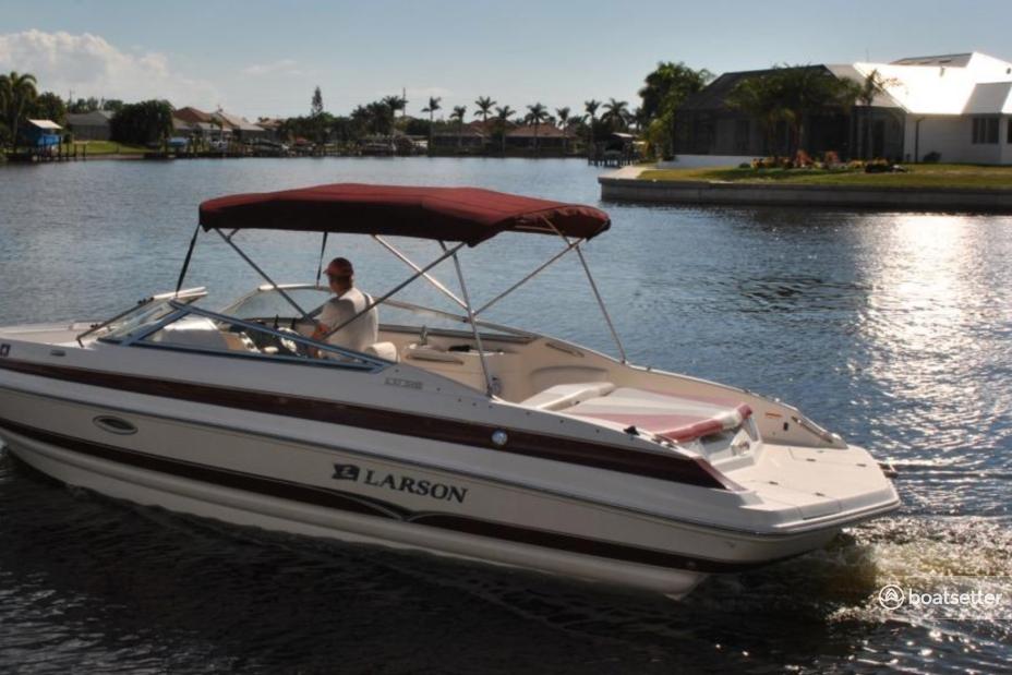 Rent a Larson Boats cruiser in Cape Coral, FL near me