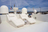 90 ft. Majestic Pershing Motor Yacht Boat Rental Miami Image 31