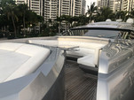 90 ft. Majestic Pershing Motor Yacht Boat Rental Miami Image 35