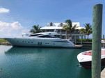 90 ft. Majestic Pershing Motor Yacht Boat Rental Miami Image 1