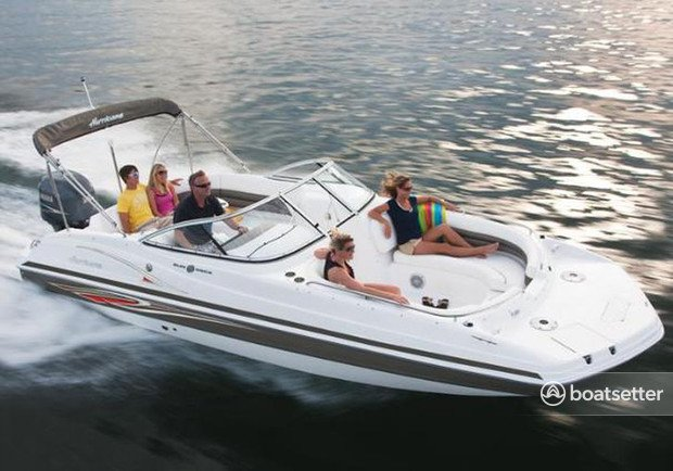 Rent a Hurricane Boats bow rider in St. Petersburg, FL near me