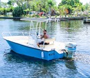 19 ft. Palm Beach by Marine Mfg. Whitecap 187 CC Center Console Boat Rental Miami Image 1