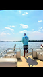 20 ft. Godfrey Marine Sweetwater Sunrise 206 F Pontoon Boat Rental Orlando-Lakeland Image 3