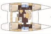 38 ft. Lagoon Boats 380 Catamaran Boat Rental San Diego Image 2