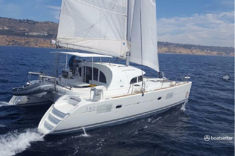 Rent a Lagoon Boats catamaran in San Diego, CA near me
