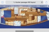44 ft. Hunter Passage 450 46' Sloop Boat Rental New York Image 3