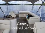 22 ft. Bennington Marine 22SLX Pontoon Boat Rental Tampa Image 11
