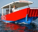 32 ft. WINNINGHOFF Party Boat Cruiser Boat Rental Boston Image 3