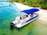 25 ft. Avalon Pontoons 24' Catalina Cruise Pontoon Boat Rental Miami Image 6