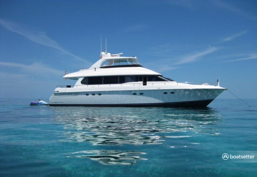 Rent a Lazzara Marine motor yacht in West Palm Beach, FL near me