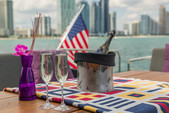 92 ft. 92 Mangusta Motor Yacht Boat Rental Miami Image 8