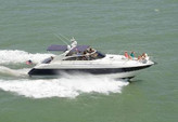 55 ft. Viking Princess Yacht 54 Convertible Cruiser Boat Rental Miami Image 1