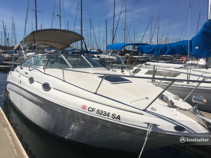 Rent a Sea Ray Boats cruiser in Alameda, CA near me