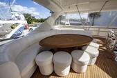 70 ft. Marquis Regency 202 Cuddy  Flybridge Boat Rental Miami Image 14