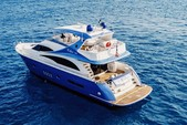 70 ft. Marquis Regency 202 Cuddy  Flybridge Boat Rental Miami Image 18