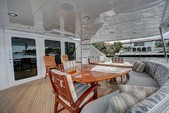 100 ft. Hatteras Yachts Custom Mega Yacht Boat Rental West Palm Beach  Image 7