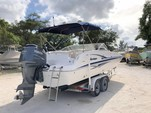 23 ft. Hurricane SD237 Deck Boat Boat Rental Tampa Image 6