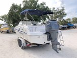 23 ft. Hurricane SD237 Deck Boat Boat Rental Tampa Image 5