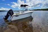 22 ft. Mako Marine 215 Cabin  Walkaround Boat Rental Tampa Image 2