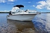 22 ft. Mako Marine 215 Cabin  Walkaround Boat Rental Tampa Image 3
