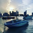 19 ft. Yamaha AR190  Bow Rider Boat Rental Miami Image 2