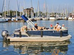 22 ft. Avalon Pontoons 22' LSZ Fish Pontoon Boat Rental N Texas Gulf Coast Image 7
