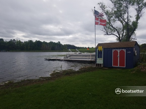 Rent a Premier Marine pontoon in Sturgeon Lake, MN near me
