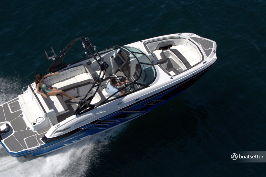 Rent a Monterey Boats bow rider in Tampa, FL near me