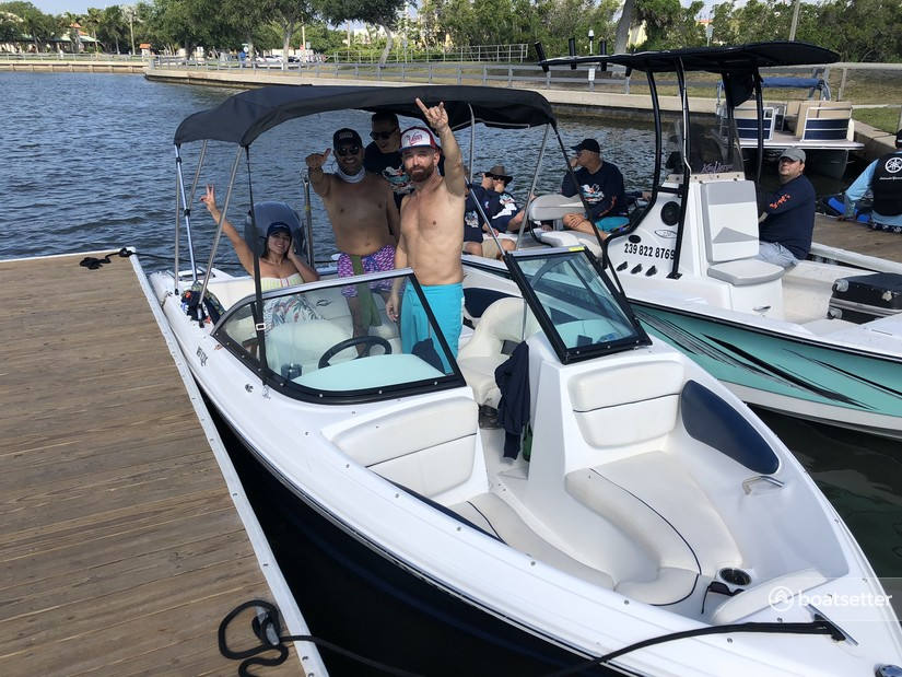 Rent a Caravelle Powerboats bow rider in Naples, FL near me