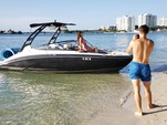 21 ft. Yamaha 212X  Jet Boat Boat Rental Miami Image 8