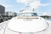 65 ft. 65V Princess Motor Yacht Boat Rental Miami Image 25