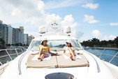 65 ft. 65V Princess Motor Yacht Boat Rental Miami Image 30