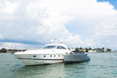 65 ft. 65V Princess Motor Yacht Boat Rental Miami Image 35