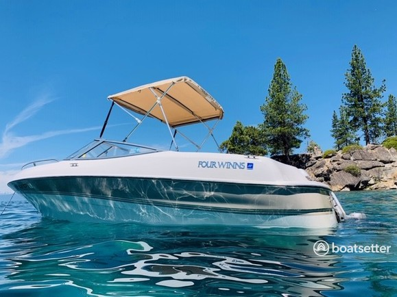 Rent a 1997 18 ft  Four Winns Boats Horizon RX in South Lake Tahoe, CA on  Boatsetter