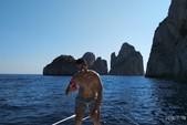 28 ft. ATLANTIS GOBBI 25 CABIN YACHT Cruiser Boat Rental Capri Image 14